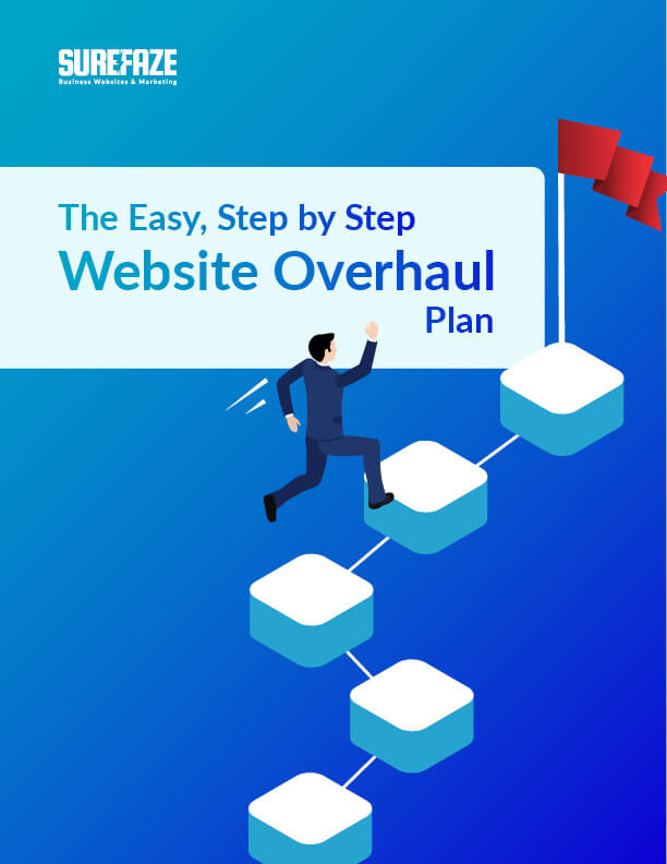 the easy, step by step website overhaul plan